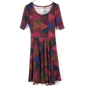 LuLaRoe Nicole Fit Flare Dress